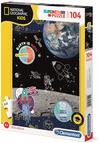 Clementoni - National Geographic  - Space Explorer Puzzle (104 Pieces)