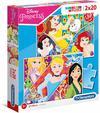 Clementoni - Disney  Princesses Puzzle (2x20 Pieces)