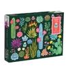 Galison - Desert Flora  with shaped Pieces Puzzle (1000 Pieces)