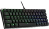 Cooler Master SK620 Argb Keyboard; Black; TTC Low Profile Red Mechanical Switches