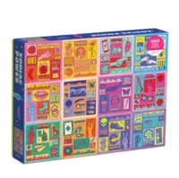 Galison - Zodiac Power Puzzle (1000 Pieces)