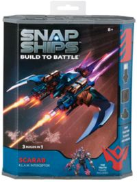 Snap Ships - Scarab K.L.A.W. Interceptor