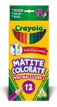 Crayola - Coloured Pencils (Pack of 12)