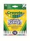 Crayola - Washable Fine Line Markers (Pack of 12)