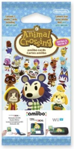 Animal Crossing: Happy Home Designer amiibo Series #3 (3 Card Pack)