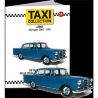 1/43 - Mercedes 200d - Athens 1965 Taxi of the World - Centauria (Die Cast Model) - Cover