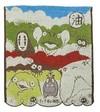 Studio Ghibli - Spirited Away - Aburaya Mini Towel (34x36cm)