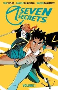 Seven Secrets - Tom Taylor (Paperback) - Cover