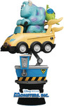 Beast Kingdom - Coin Ride DS-037 Monsters Inc D-Stage Series 6 Statue