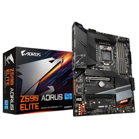 Gigabyte Aorus Elite Intel Z590 Chipset for 10/11th Gen LGA 1200 ATX Gaming Motherboard