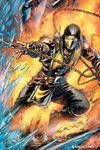Mortal Kombat - Scorpion Maxi Poster (61x91,50cm)