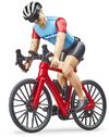 Bruder - 1/16 Road Bike With Cyclist