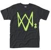 Watch Dogs 2 - Neon Logo Unisex T-Shirt (Large)