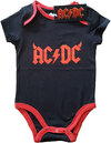 AC/DC - Horns Babygrow - Black (18 Months)
