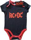 AC/DC - Horns Babygrow - Black (3-6 Months)