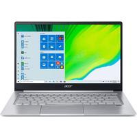 Acer Swift 3 SF314-59-35SS Intel i3-1115G4 8GB RAM 256GB SSD BT + WiFi 6 Win 10 Home 14 inch FHD Notebook - Silver (11th Gen)