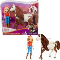 Spirit - Abigail Doll & Boomerang Horse