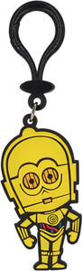 Star Wars - C-3PO Pvc Soft Touch Bag Clip - Cover