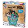 Big Mouth - Sugar Skull Beach Blanket