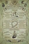Harry Potter - Hogwarts School List Poster (61x91,50cm)