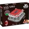 Nanostad - AC Milan: San Siro Stadium 3D Puzzle (100 Pieces)