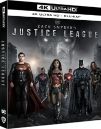 Zack Snyder's Justice League (4K Ultra HD + Blu-ray) - Cover
