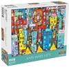 Mchezo - Anti-Hate City Puzzle (1000 Pieces)