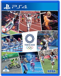 Olympic Games Tokyo 2020: The Official Video Game (PS4) - Cover
