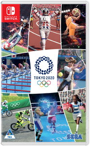Olympic Games Tokyo 2020: The Official Video Game (Nintendo Switch) - Cover