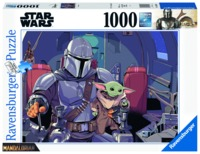 Ravensburger - Star Wars: The Mandalorian Puzzle (1000 Pieces)