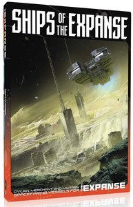 The Expanse: Ships of the Expanse (Role Playing Games) - Cover
