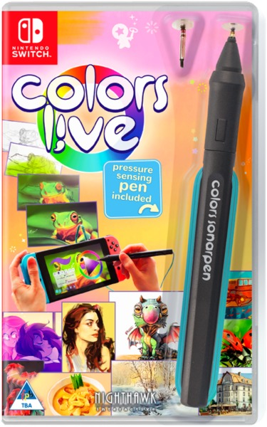 Colors Live (with Pen) (Nintendo Switch)