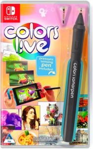 Colors Live (with Pen) (Nintendo Switch) - Cover
