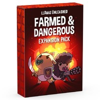 Llamas Unleashed: Farmed & Dangerous Expansion Pack (Card Game) - Cover
