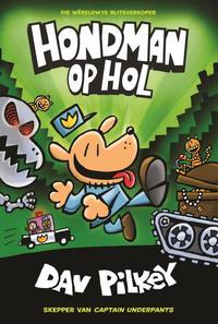 Hondman 2: Hondman op hol - Dav Pilkey (Paperback) - Cover