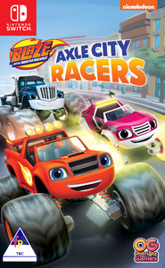 Blaze and The Monster Machines: Axle City Racers (Nintendo Switch) - Cover