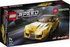 LEGO - Speed Champions - Toyota GR Supra Racing Car (299 Pieces)