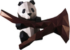 Papercraft World - Panda Wall Art 3D Puzzle