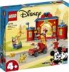 LEGO - Disney 4+ - Mickey & Friends - Fire Engine & Station (144 Pieces)
