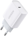 Ugreen USB-C 20W PD 3.0 Fast Wall Charger - White