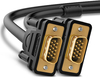 Ugreen VGA Male to VGA Male 1080p 2m Cable - Black