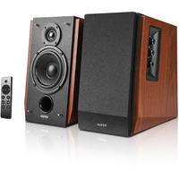 Edifier R1700BTs Active Bookshelf / Multimedia Bluetooth Speaker (Brown)