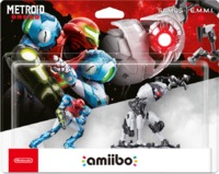 amiibo - Metroid Dread Samus | E.M.M.I (2-Pack) (Nintendo Switch) - Cover