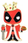 Funko Pop! Pins - Marvel Deadpool - King Deadpool