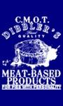 Discworld - Cut Me Own Throat Dibbler Men's T-Shirt – Navy (Medium)