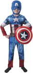 Rubies - Marvel Partytime Costume - Captain America (Costume) (3-6 years)