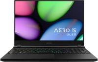 Gigabyte - AERO 15 OLED XD OLED i7-11800H 16GB RAM Gen4 1TB SSD nVIDIA GeForce RTX 3070 GDDR6 8GB Win 10 Pro 15.6 inch Gaming Notebook (11th Gen) - Cover