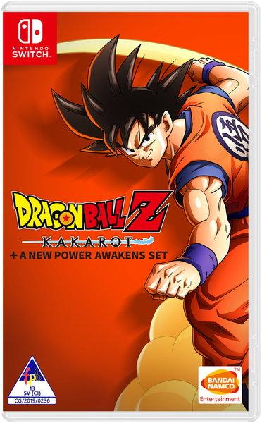 Dragon Ball Z: Kakarot + A New Power Awakens Set (Nintendo Switch)