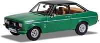 Corgi - 1:43 - Ford Escort Mk2 1.3 Ghia Green (Die Cast Model)