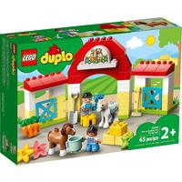 DUPLO® Town - Horse Stable and Pony Care (65 Pieces)